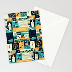 Divergent items Stationery Cards
