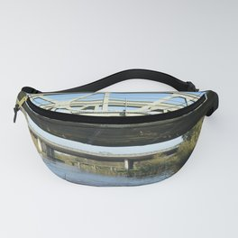Three different bridges in the Netherlands Fanny Pack