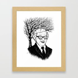 ray bradbury Framed Art Print