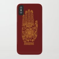 hamsa iPhone & iPod Cases featuring Hamsa by Stranger Designs