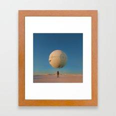 LIFE (everyday 02.10.17) Framed Art Print