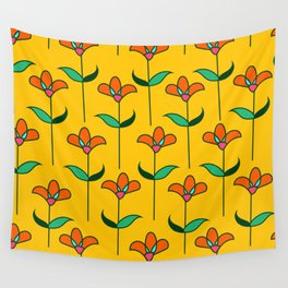 Genevieve - Yellow Wall Tapestry