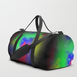 Abstract circle Duffle Bag