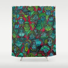 The Audience.  Shower Curtain