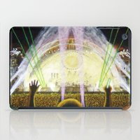 concert iPad Cases featuring The Concert by Vargamari