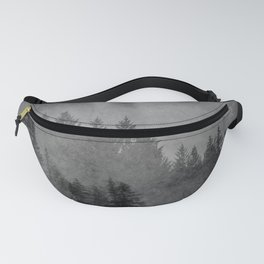 Charcoal Forest Fanny Pack