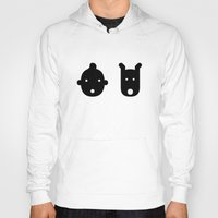 tintin Hoodies featuring tintin & milu by atipo