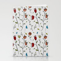 spice Stationery Cards featuring Floral Spice by Itaya Art