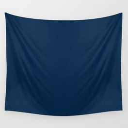 Pure clear blue navy sea color ocean deep water Wall Tapestry