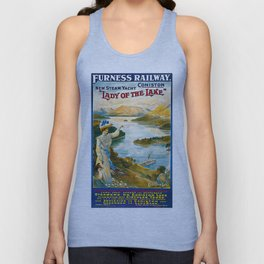 Furness Railway and Lady of the Lake Unisex Tank Top