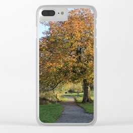 Branching Out Clear iPhone Case