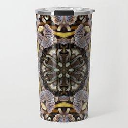 Mushroom Mandala Travel Mug