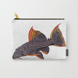 Scarlet Pleco Full Color Carry-All Pouch