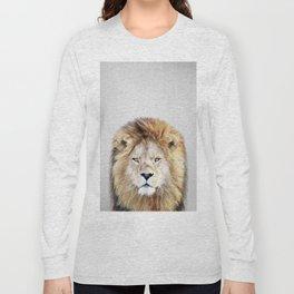 Lion 2 - Colorful Long Sleeve T-shirt