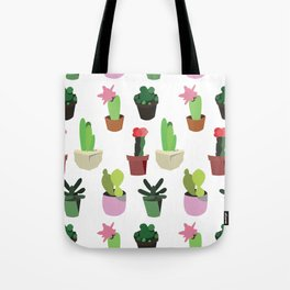 lovely cactus Tote Bag