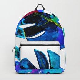 Monstera art Backpack