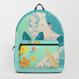 Pretty Princess Narwhal Backpack