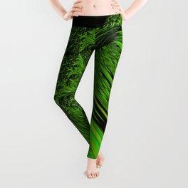 Green Neon Leggings