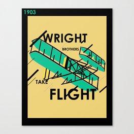 Wright Brothers Take Flight Canvas Print