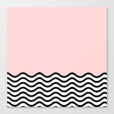 Warm Wave; Canvas Print