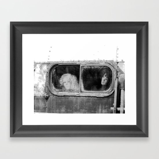 Motionless Journey Framed Art Print