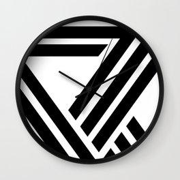 Hello VII Wall Clock
