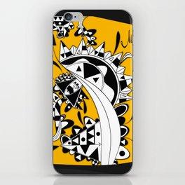 YELLOW TRIANGLE  iPhone Skin