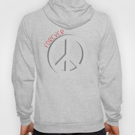 Forever peace symbol Hoody