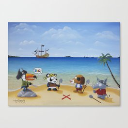 F**k You, You Dig! Canvas Print