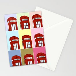 Phone Box Stationery Cards