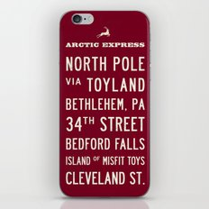 Arctic Express Christmas iPhone & iPod Skin