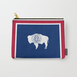 Wyoming Flag Carry-All Pouch