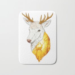 Enchanted Stag Bath Mat