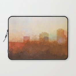 New Orleans, Louisiana Skyline - In the Clouds Laptop Sleeve