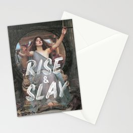 Rise and Slay Stationery Cards