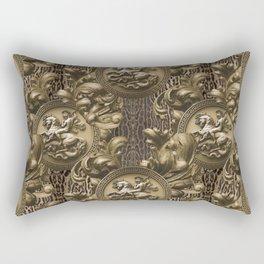 St Michael Baroque Rectangular Pillow