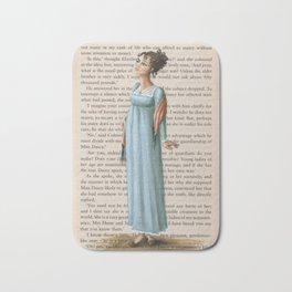 Jane Austen - Elizabeth Bennet Bath Mat