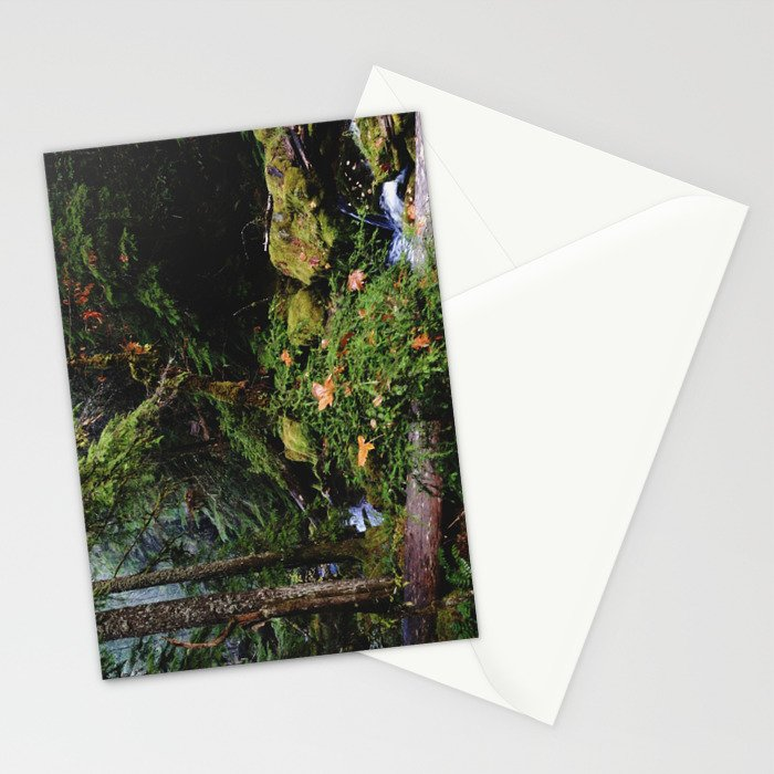 Late Fall Forest Stationery Cards