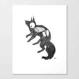 Fox Animus Canvas Print