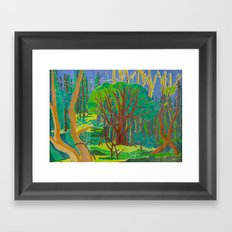 Il Bosco (The Forest) Framed Art Print