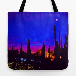 Sunset in Phoenix, Arizona Tote Bag