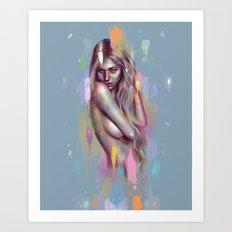 Farba Art Print