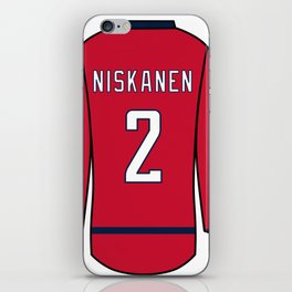 Matt Niskanen Jersey iPhone Skin
