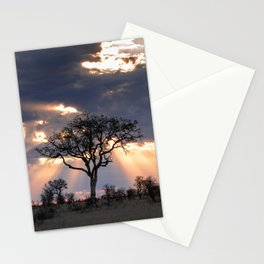 African Cloudscape Stationery Cards