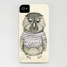 cute owl iPhone (4, 4s) Slim Case