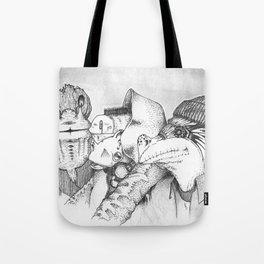 Three Gentlemen Tote Bag