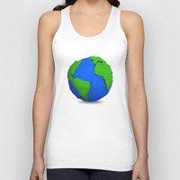 globe Tank Tops featuring Globe by Tassos Kotsiras