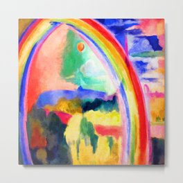 Robert Delaunay The Rainbow Metal Print