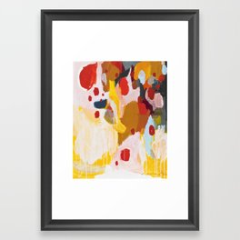History Lesson Framed Art Print