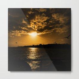 İstanbul Sunset  Metal Print